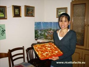 Pizza impasto base margherita