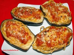 barchetta di spaghetti