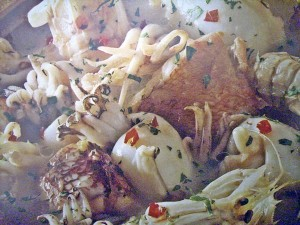 zuppa pesce piccante