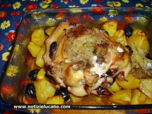 seppia patate